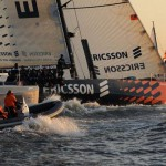 Ericsson 4 Finishing In St Petersburg (Photo by Dave Kneale / Volvo Ocean Race)
