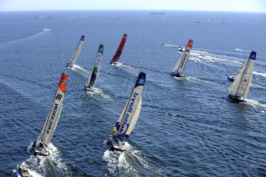 Start of Leg (Photo by Rick Tomlinson / Volvo Ocean Race)