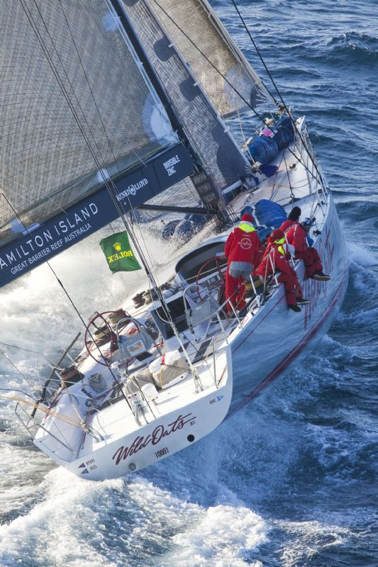 Wild Oats XI Before The Finish (Photo by Rolex/Daniel Forster)