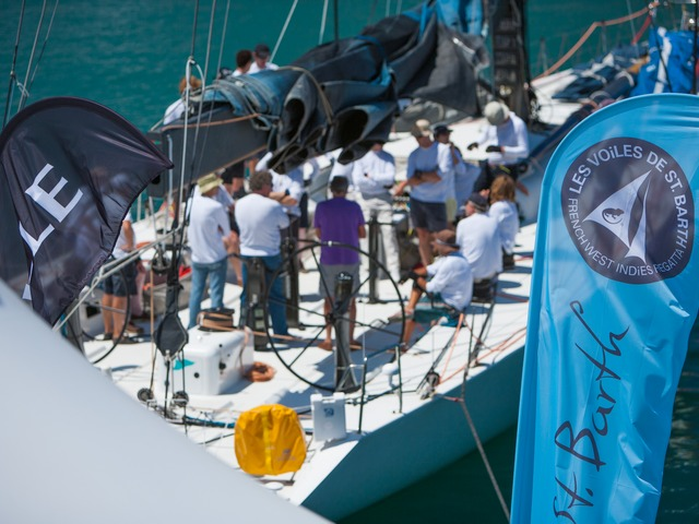 Atmosphere on the dockside at Les Voiles de Saint Barth © Christophe Jouany / Les Voiles de St. Barth