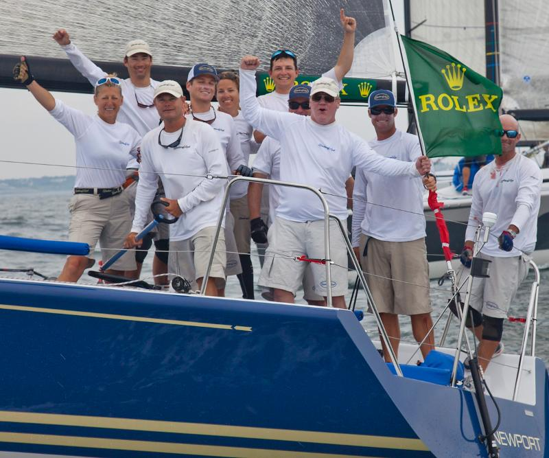 Rolex Farr 40 Barking Mad Crew  (Photo  by Daniel Forster)