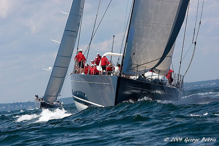 P2 during 2009 Newport Bucket (Photo by George Bekris)